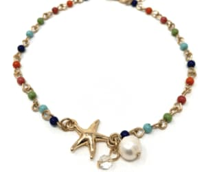 ankle bracelets, summer jewelry, and fashion beach jewelry image