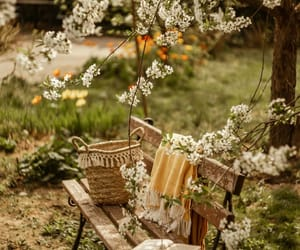 cozy, farm house, and flowers image