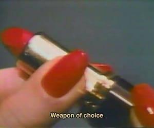 lipstick, naughty, and vintage image