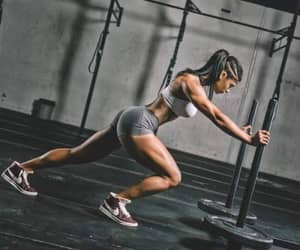 fitness, girl, and sport image