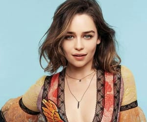 actress, emilia clarke, and daenarys image