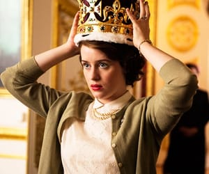 queen elizabeth, the crown, and claire foy image