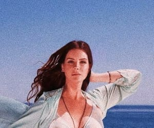 lana del rey, lana, and high by the beach image