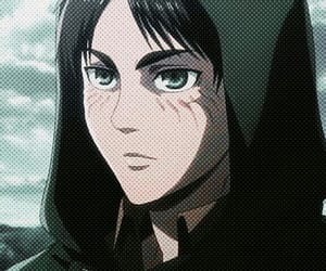 anime, shingeki no kyojin, and eren image
