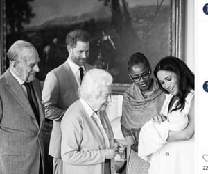 black and white, prince harry, and royal family image