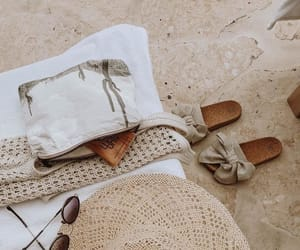 summer, fashion, and sand image