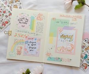 floral, journal, and kawaii image