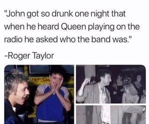 Queen, roger taylor, and john deacon image
