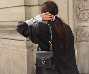 bag, black, and vintage image