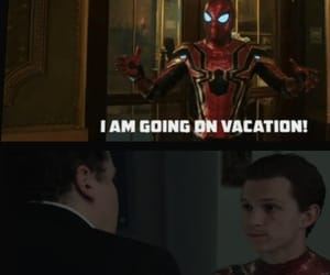 spider-man, happy hogan, and spider-man far from home image