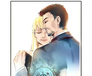 Avengers, tony stark, and pepper potts image