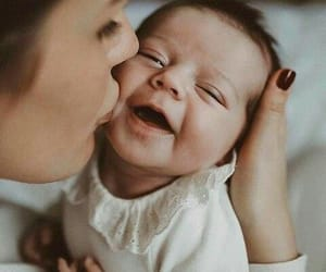 baby, love, and kiss image