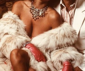 diamonds, luxury, and fur image