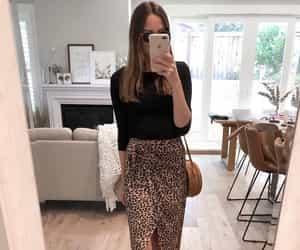 fashion, home decor, and leopard print image