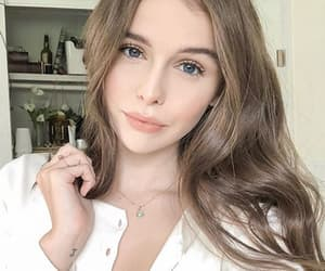 beauty, ack, and brown hair image