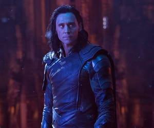 loki, infinity war, and tom hiddleston image