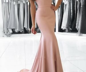 girl, party, and pink dress image
