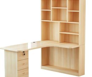 trabajo, estantes, and escritorio image