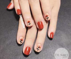 diseno, nails, and florcitas image