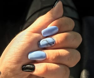 blue, ideas, and manicure image