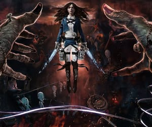 alice, asylum, and character image