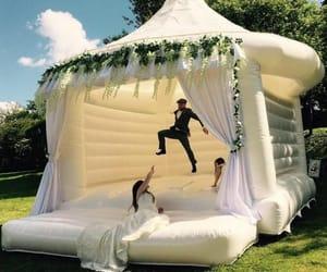 wedding, bouncer, and wedding tip image