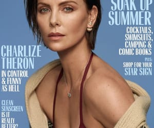 Charlize Theron, fashion, and fashion magazine image