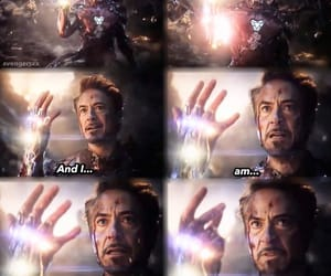 Avengers, robert downey jr, and iron man image