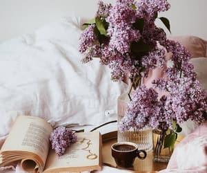 beautiful life, books, and coffee image