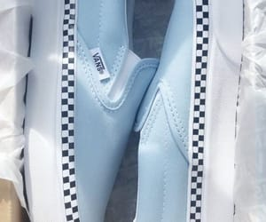 baby blue, shoes, and slip on image