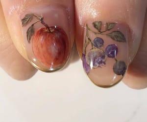 fruit, manicure, and nail art image