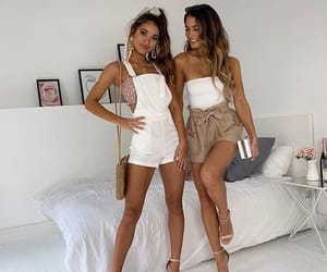 best friends, bff, and fashion image