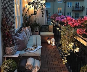 balcony, cosy, and house image