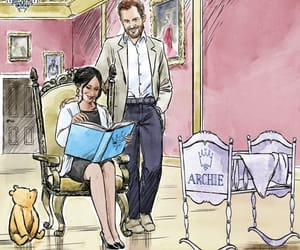 Archie, winnie the pooh, and prince harry image
