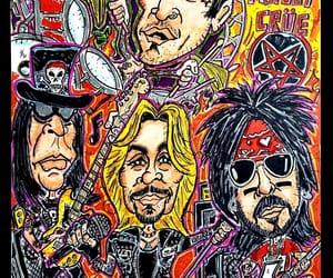 art, glamrock, and band image