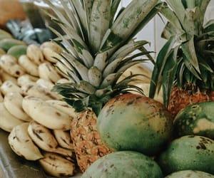 banana, summer, and fruit image