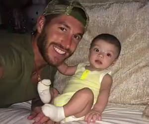 baby, daddy, and sergio ramos image