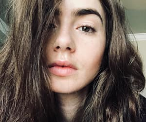 girl, lily collins, and actress image