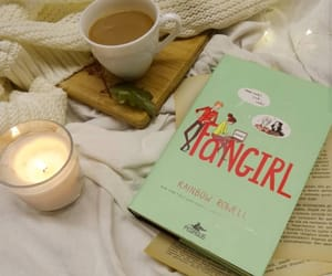 book, fangirl, and rainbowrowell image