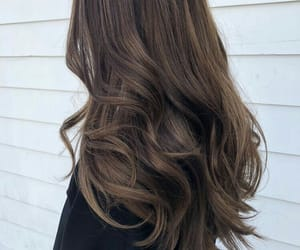 hairstyle, brunette, and hair image