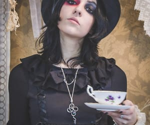 gothic, lolita, and teaparty image