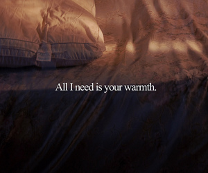 text, quote, and warmth image