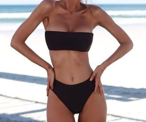 aesthetic, beach, and body image