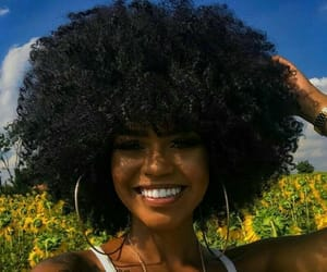black girl, curly, and girls image
