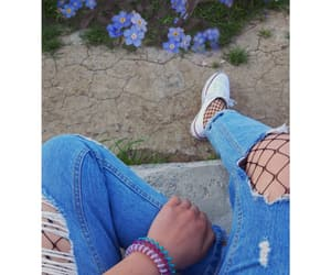 cool, white converse, and legs image