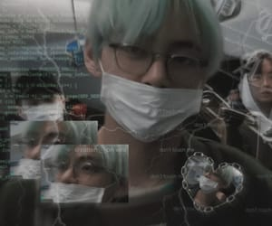 aesthetic, taehyung, and cyber ghetto image