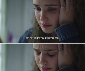 quotes, tv show, and 13 reasons why image