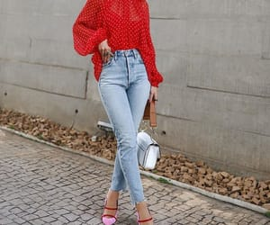 outfit, beauty, and fashion image