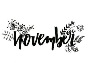 november, quotes, and autumn image