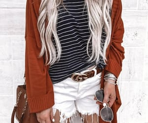 aesthetic, blonde, and clothes image